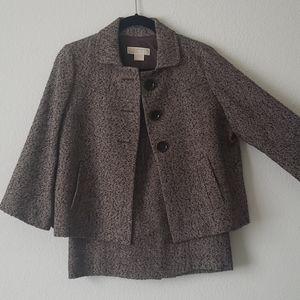 MICHAEL Michael Kors brown skirt suit